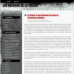 Le Thalys, le harcèlement de métro et l'héroisme ordinaire