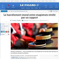 Le harcèlement moral entre magistrats révélé par un rapport