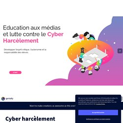 Cyber harcèlement by nathalie.legros on Genially