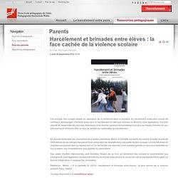 Harcèlement - Parents