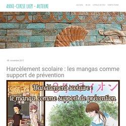 Harcèlement scolaire : les mangas comme support de prévention - Site de opaledefeu !