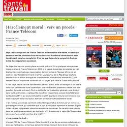 Harc lement moral : vers un proc s France T l com