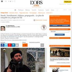 Daesh: harcèlement, violence, propagande... Le plan de conquête en 3 étapes de l'EI