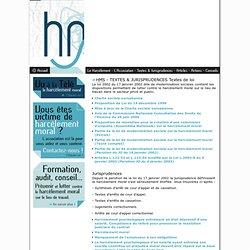 Harcèlement Moral Stop - Pour la reconnaissance du harcèlement moral dans la législation française