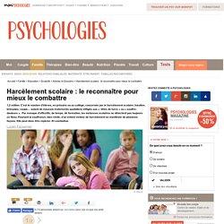 Harcèlement scolaire : le reconnaître pour mieux le combattre