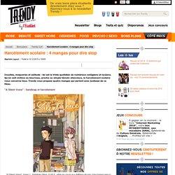Harcèlement scolaire : 4 mangas pour dire stop - L'Etudiant Trendy