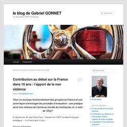 le blog de Gabriel GONNET