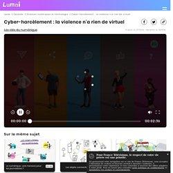 Cyber-harcèlement : la violence n'a rien de virtuel