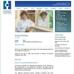 Harcourt Chambers - Member Profile