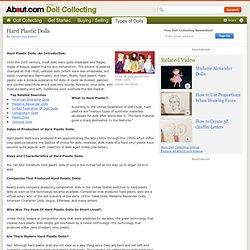 Hard Plastic Dolls - All About Hard Plastic Dolls