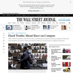 Hard Truths About Race on Campus