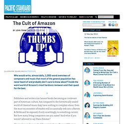 The Cult of Amazon: Meet the Most Hardcore Reviewers on the Site