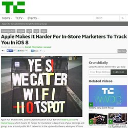 Apple Makes It Harder For In-Store Marketers To Track You In iOS 8