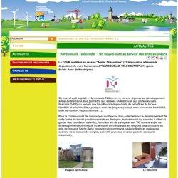 """""""Hardouinais Télécentre"""" : Un nouvel outil au service des télétravailleurs - Communauté de Communes Hardouinais Mené (CCHM)"""