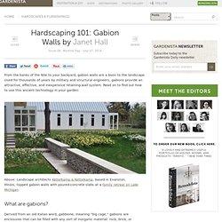 Hardscaping 101: Gabion Walls: Gardenista