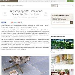 Hardscaping 101: Limestone Pavers: Gardenista