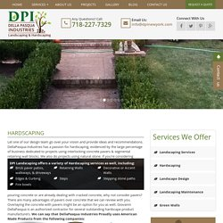 Hardscaping, Retaining Walls & Stepping Stones Services in NYC