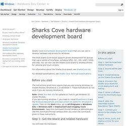 Sharks Cove hardware development board (Windows Drivers)