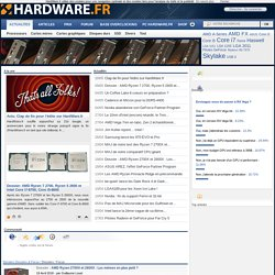 HardWare.fr - Le Guide du HardWare & de l'Optimisation PC