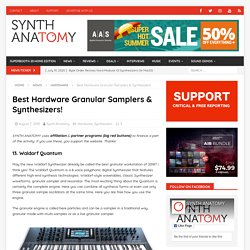 Best Hardware Granular Samplers & Synthesizers!