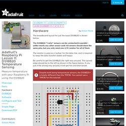 Adafruit's Raspberry Pi Lesson 11. DS18B20 Temperature Sensing