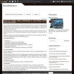 Horloge Mère Open Hardware & Software pour horloge Bodet - BreizhMakers