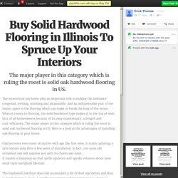 Buy Solid Hardwood Flooring