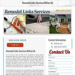 Deck services Milton GA
