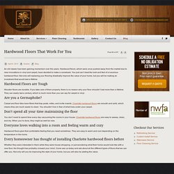 Hardwood Floors That Work For You