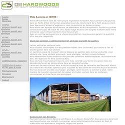db hardwoods beuk Beech bolen en bekantrecht