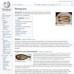 Hareng saur