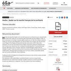 Haribo : leader sur le marché français de la confiserie