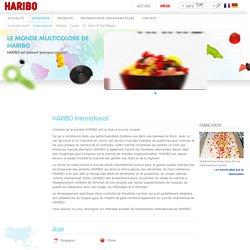 HARIBO international et dans le monde entier - Tous les sites et filiales