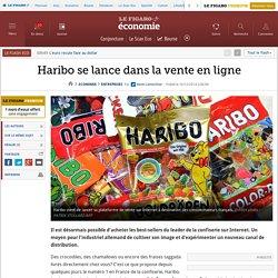 Haribo se lance dans la vente en ligne