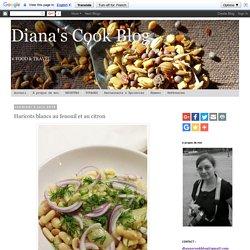 Diana's Cook Blog: Haricots blancs au fenouil et au citron