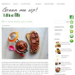 Faux nutella aux haricots rouges