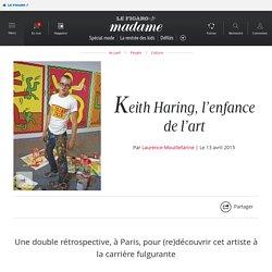 Le musée d'Art moderne de la Ville de Paris et le Centquatre lui consacrent deux expositions - Keith Haring, l'enfance de l'art