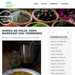 Harira de pollo, sopa marroquí con Thermomix - Thermomix por el mundo