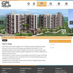 Harit Shilp – Luxurious Apartments by GPL Realty