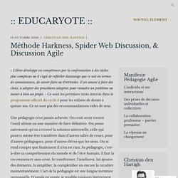 Méthode Harkness, Spider Web Discussion, & Discussion Agile