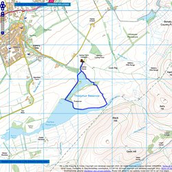 Harlaw and Threipmuir Reservoirs - Route Map