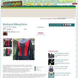 Harlequin Hiking Dress