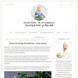 Så gör du härligt blomkålsris - clean eating - Clean Eating by Annika