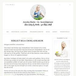 HÄRLIGT SEGA CHOKLADKAKOR - Clean Eating by Annika
