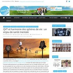 QVT et harmonie des sphères de vie : un enjeu de santé mentale