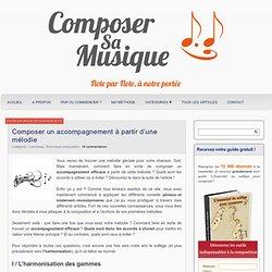 Composer sa musique