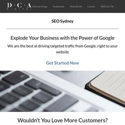 DCA DIGITAL - SEO Company Sydney