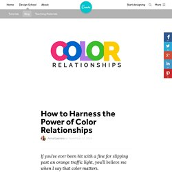 How to Harness the Power of Color Relationships – Design School