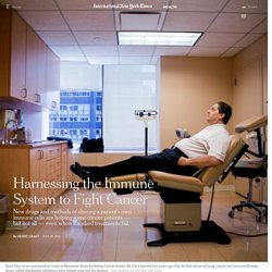 Harnessing the Immune System to Fight Cancer