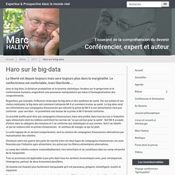 Haro sur le big-data